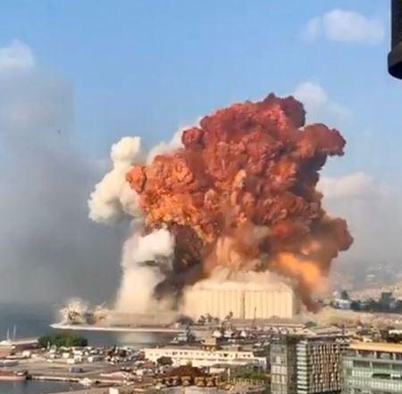 Beirtut explosión